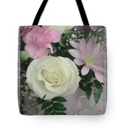 Lace Framed Mothers Day Tote Bag