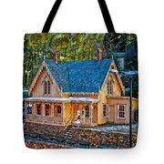 Lace House Blackhawk  Colorado Tote Bag