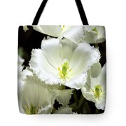 Lace Palm Springs Tote Bag