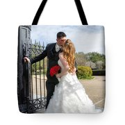 Lacey And Adam Wedding 1 Tote Bag