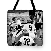 Lacrosse - Stick To The Face Tote Bag