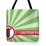 Lactose Free Banner Tote Bag