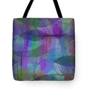 Lacy Leaves Tote Bag