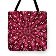 Lacy Orchid Kaleidoscope Tote Bag