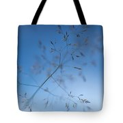 Lacy Patterns Of Grass Tote Bag