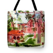 Lacy Spring Greens At Ursuline Academy Tote Bag