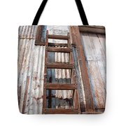 Ladder 1 Tote Bag by Minnie Lippiatt