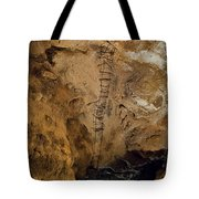 Ladder To The Center Of The Earth Tote Bag