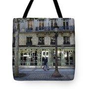 Laduree On The Champs De Elysees In Paris France  Tote Bag