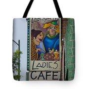 Ladies Cafe Tote Bag