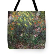 Ladies In Flowers Tote Bag