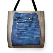 Ladies' Jeans Tote Bag