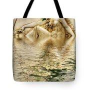 Lady Bathing Tote Bag
