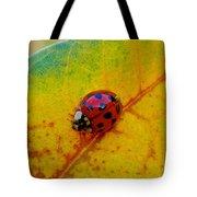 Lady Bug 3 Tote Bag