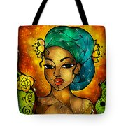 Lady Creole Tote Bag