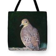 Lady Dove Tote Bag