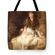 Lady Edith Amelia Ward Daughter Of The First Earl Of Dudley Tote Bag