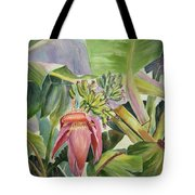 Lady Fingers - Banana Tree Tote Bag