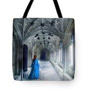 Lady In A Corridor Tote Bag