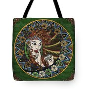 Lady In Bar Tote Bag