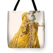 Lady In Grand Domino Dress To Wear Tote Bag