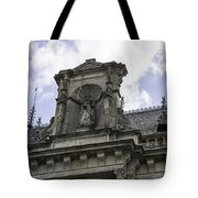 Lady Justice City Hall Cologne Germany Tote Bag