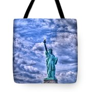 Lady L Tote Bag