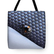 Lady Ladybug And Artificial Surfaces Tote Bag