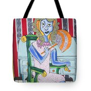 Lady Laura Tote Bag