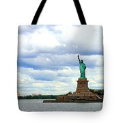 Lady Liberty B Tote Bag
