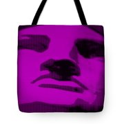 Lady Liberty In Purple Tote Bag