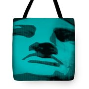 Lady Liberty In Turquois Tote Bag
