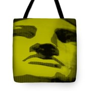 Lady Liberty In Yellow Tote Bag