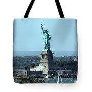 Lady Liberty Tote Bag by Kristin Elmquist