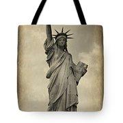 Lady Liberty No 11 Tote Bag