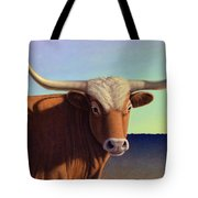 Lady Longhorn Tote Bag by James W Johnson