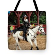 Lady Of Arms Tote Bag