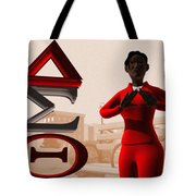 Lady Of Dst Tote Bag