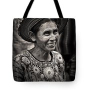 Lady Of Santiago Atitlan Tote Bag