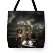 Lady Of The Night Tote Bag by Nathan Wright