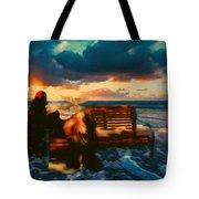 Lady Of The Ocean Tote Bag