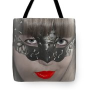 Lady Of The Opera Tote Bag