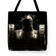 Lady On The City Hall Tote Bag