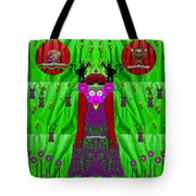 Lady Panda Have Arrived Tote Bag