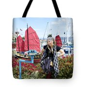 Lady Pirate And Friend Tote Bag