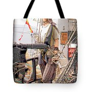Lady Pirate Of Penzance Tote Bag by Terri Waters