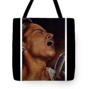 Lady Sings Tote Bag