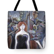 Lady Sings The Blues Tote Bag