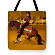 Lady Slidin Tote Bag
