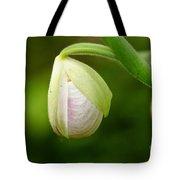 Lady Slipper Pearl Tote Bag